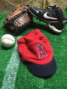 Anaheim-Angels-of-Los-Angeles-Knit-Cap-Hat-w-Visor-Dairy-Queen-039-09-DQ-SGA-NEW-h7