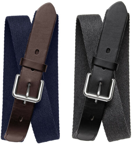 Brand New Banana Republic Men/'s Flannel Webbed Belt #130788