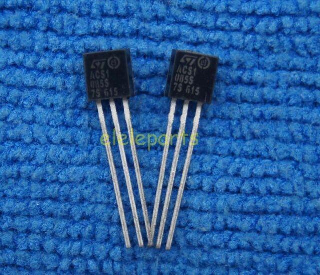 5PCS AC Switch Transistor ST TO-92 ACS108-6SA ACS108-6SA-TR ACS1086S ACS108-6S