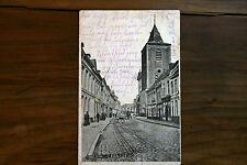 belgique CPA Menin, L`Eglise St. Vaast 1915 courrier FELDPOST