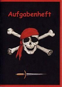 Piratenmotiv-Aufgabenheft