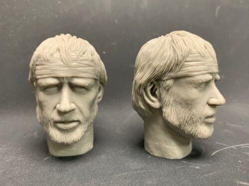 """Weylen/'s workshop 1//6 headsculpt /""""Chunk Norris/"""""""