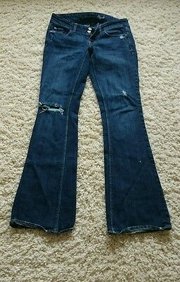 Women's American Eagle Jeans Size 2 Reg Stretch/artist Distressed Style Jeans Clothing, Shoes & Accessories