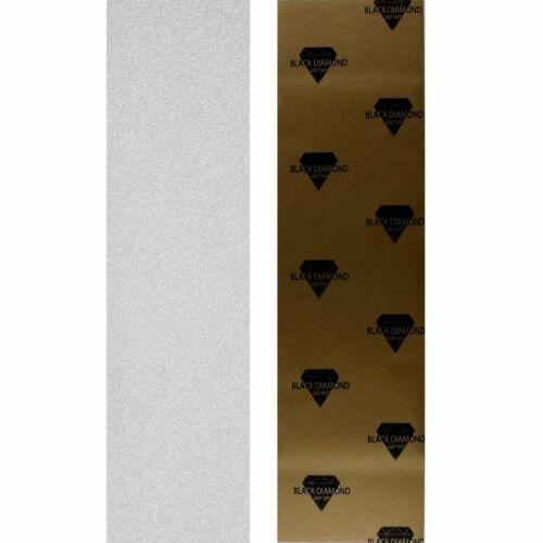 "BLACK DIAMOND CLEAR Griptape 10/"" Longboard /& Skateboard /< Länge FREI wählbar />"
