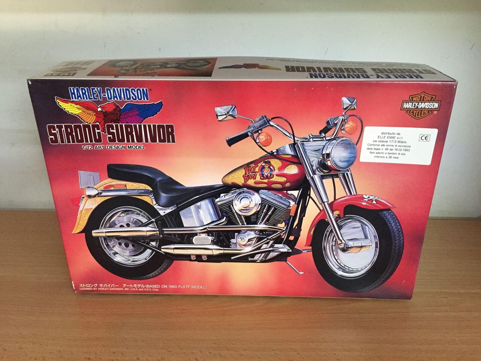 Imai Kit di Montaggio 1 12 Harley Davidson STRONG SURVIVOR MIB, 1994 Japan