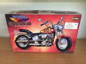 Imai Kit Di Montaggio 1:12 Harley Davidson Strong Survivor Mib, 1994 Japan