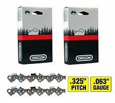 """2 Pack, Oregon 22LPX067G 16"""" Chain Loops, 67 Links, .325"""" Pitch x.063"""" Gauge"""