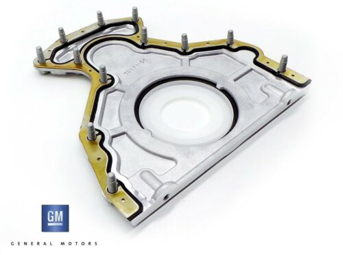 GM REAR MAIN OIL SEAL PLATE KIT TO SUIT HOLDEN COMMODORE VF L77 LS3 6.0L 6.2L V8