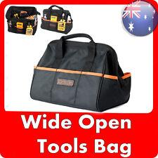 NEW Runda Heavy Duty Handyman Electrician Maintenance Wide Open Carry Tool Bag