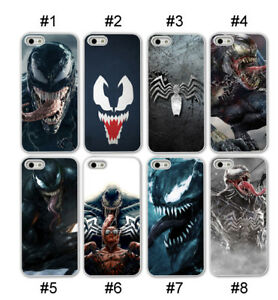 wholesale dealer 63a4e 6954e Details about Venom Spiderman Marvel Phone case for iPhone XR XS MAX 7 8  Plus Hard/Soft Black