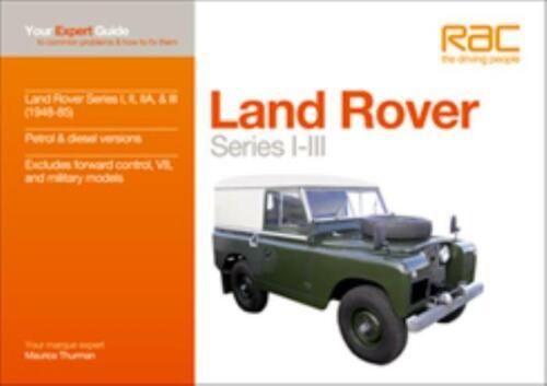 LAND Rover Serie I-III manuale 1948-1985 comuni problemi /& come risolverli