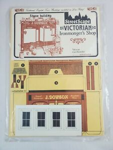 Alphagraphix-Victorian-Ironmonger-039-s-Shop-1-43-Scale-Card-Model-Kit