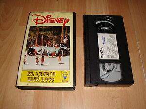 El Abuelo Esta Loco De Walt Disney En Vhs Primera Edicion 1996 En Buen Estado Ebay