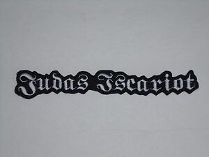 JUDAS-ISCARIOT-IRON-ON-EMBROIDERED-PATCH