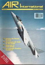 AIR INTERNATIONAL V44 N6 FRENCH GRUMMAN F8F BEARCAT INDOCHINA_B-2 STEALTH USAF