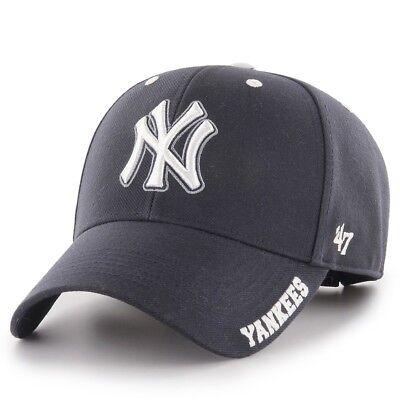 details for latest fashion good quality 47 Brand Men's New York Yankees MVP Defrost Cap - Navy BNWT ...