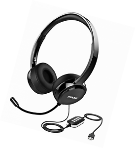 Mpow 071 USB Headset  3.5mm Computer Headset with Microphone Noise ... de4d9af2dd