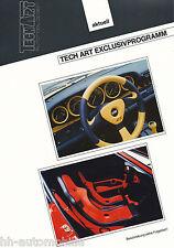 Bild-Prospekt Porsche 911 Innenausstattung TechArt Exclusivprogramm 1994 intNr9a