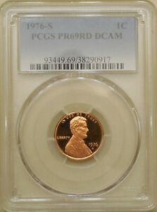 1976-S-PCGS-PR69DCAM-proof-Lincoln-cent-deep-cameo-red-DCAM-registry-coin