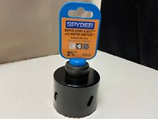 Spyder 600251  Rapid Core Eject with Rapid Switch Hole Saw 1.875-Inch