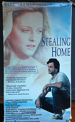 Stealing Home Vhs 1988 Coming Of Age Drama Stars Jodie Foster Mark Harmon Ebay
