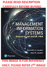 management information systems managing the digital firm 15th global edition