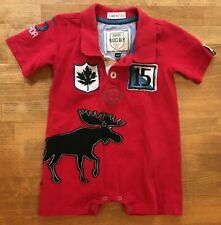 NWT Faded Glory Boy/'s Born Cool Skull Snowflake Black One Piece Sizes NB /& 3-6 M