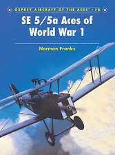 SE 5/5a Aces of World War 1 (Aircraft of the Aces) (Aircraft of the Aces), Norma
