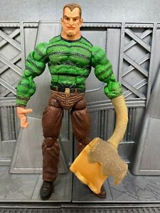 Marvel-Legends-Toybiz-Spider-man-Classics-SANDMAN-6-034-Action-Figure-BROKE-HAND