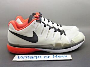 fd71f9851e5 Details about Men's Nike Zoom Vapor Tour 9.5 White Crimson Black Tennis  Shoes 631458-106 sz 7