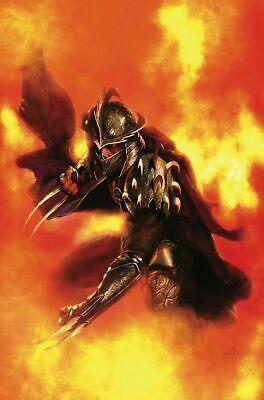 TMNT SHREDDER IN HELL #1 GABRIELE DELL/'OTTO GHOST VIRGIN VARIANT LTD ONLY 666