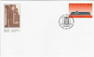 Canada-Post-Official-FDC-1989-2-00-McAdam-Railway-Station-FDC-Sc-1182