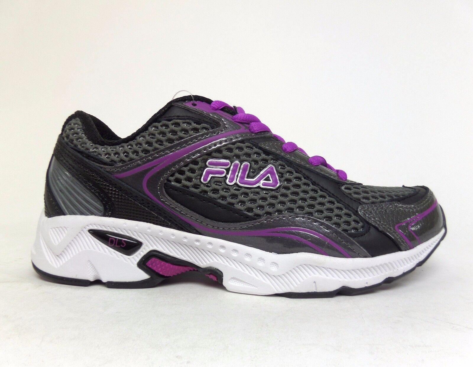 FILA Women's TREXA LITE 4 COOLMAX Running Shoes Charcoal/Purple 5SR20326-087 a2 Casual wild