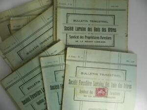 Boletin-Trimestral-Societe-Forestal-Lorraine-Las-Amis-Las-Arboles-1926-1933
