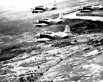 Adroit A-1e A-1 Skyraider Formation Vietnam 11x14 Silver Halide Photo Print Collectibles Other Militaria