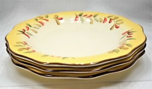 Better Homes and Gardens Tuscan Retreat Dinner Plates | Set 3