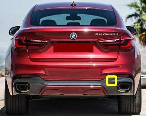 BMW-SERIE-NUOVO-ORIGINALE-x6-f16-PARAURTI-POSTERIORE-M-SPORT-Gancio-di-traino-EYE-COVER-7319886