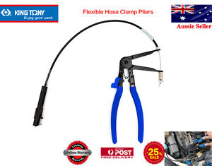 KING-TONY-24-034-Long-Reach-Flexible-Hose-Clamp-Pliers-V-CLAMP-PLIERS-Ford-Nissan