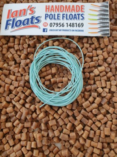 HIGHEST QUALITY AMBERCORE HOLLOW POLE ELASTIC NANO BORE RATED 2-6  2.5m length