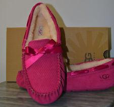 NIB Ladies UGG Australia DAKOTA Exotic Scales Slippers Tropical Sunset Pink - 6