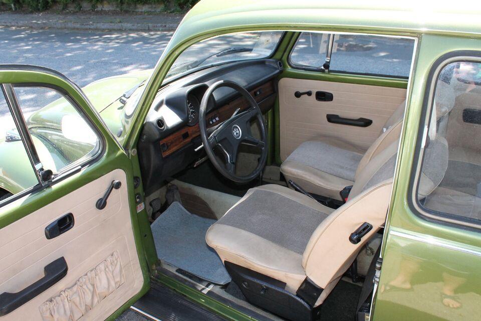 VW 1303 1,3 Benzin modelår 1974 km 94000 Grønmetal