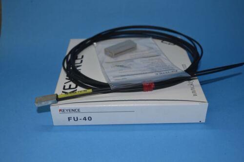 FU-40 FU40 1PC NEW KEYENCE Fiber Optic Sensor