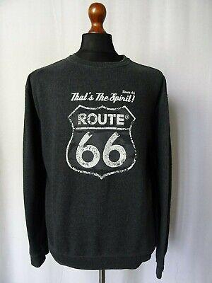 Dedito Men's Vintage Route 66 Sweater Maglione L 44r-mostra Il Titolo Originale