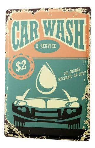 Tin Sign Garage  car wash Gas Stations Vintage