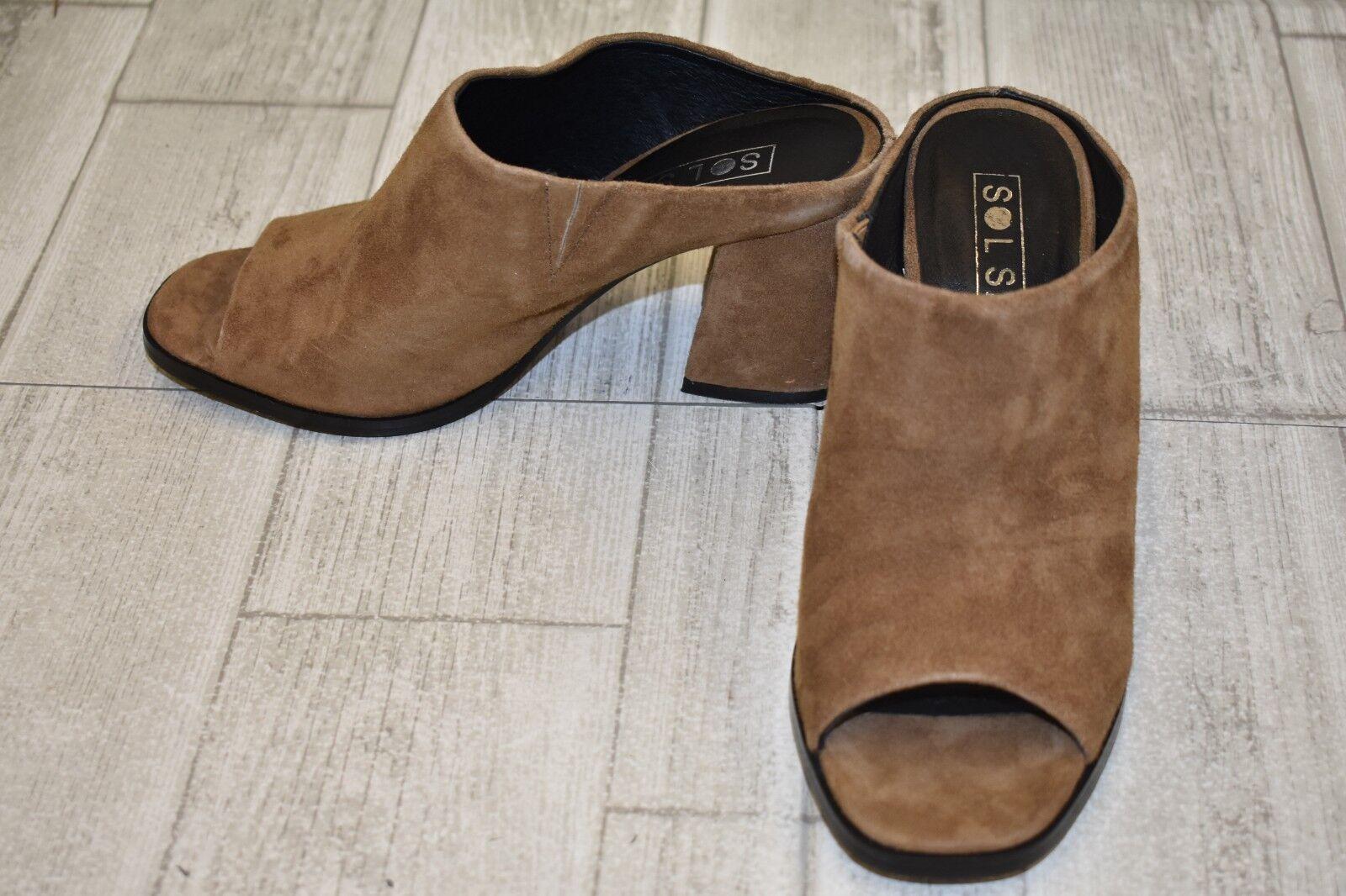 qualità di prima classe Sol Sana Marc Mule Heels - Donna  Dimensione 7 7 7 - Marrone  negozio di vendita outlet