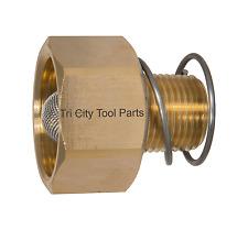 """Pressure Washer Garden Hose Adaptor 3/8"""" Male to GH"""