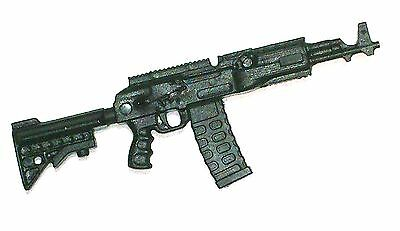 """""""Basic"""" AKM Assault Rifle BLACK (1)-1:18 Scale Weapon for 3-3/4"""" Action Figures"""