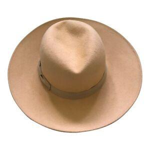 "Paul Smith Ladies Mustard Wool Hat Size M - 55cm - 21.6"""