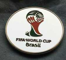 Neymar Jr FIFA World Cup Brazil Logo Silver Coin Soccer Football Sports Spain UK