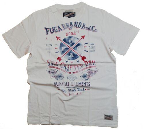 Fuga T-Shirt Soft White M Print